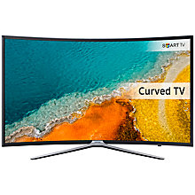 "Buy Samsung UE55K6300 Curved LED HD 1080p Smart TV, 55"" with Freeview HD, Built-In Wi-Fi & SmartThings Compatibility Online at johnlewis.com"