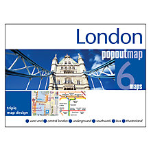Buy Allsorted London 6 Pop Out Maps Online at johnlewis.com