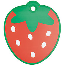Buy Kitchen Craft Strawberry Plastic Chopping Board Online at johnlewis.com