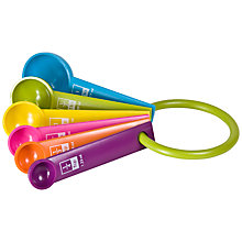 Buy Taylor's Eye Witness Measuring Spoons, Assorted Colours Online at johnlewis.com
