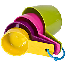 Buy Taylor's Eye Witness Measuring Cups, Assorted Colours Online at johnlewis.com