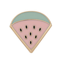 Buy Des Petits Hauts Leonie Watermelon Brooch, Green/Pink Online at johnlewis.com