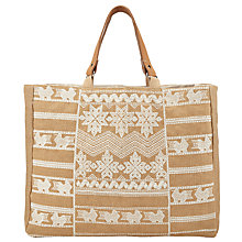 Buy Star Mela Leila Embroidered Bag Online at johnlewis.com