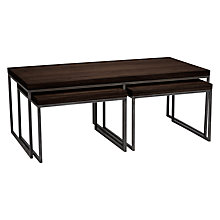Buy John Lewis Calia Coffee Table with Nest of 2 Tables Online at johnlewis.com
