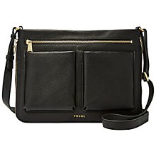Buy Fossil Piper Small Leather Across Body Bag Online at johnlewis.com