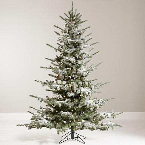 Buy John Lewis Snowshill 7ft Pre-lit Pine Christmas Tree   John Lewis
