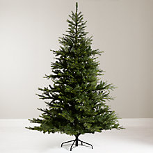 Buy Babylon Pine tree 7ft with 320 MAINS indoor wire lights green / soft white Online at johnlewis.com