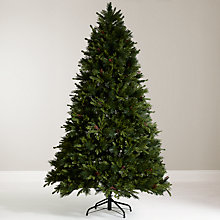 Buy John Lewis 7.5ft Leckford Berry Instant Christmas Tree Online at johnlewis.com