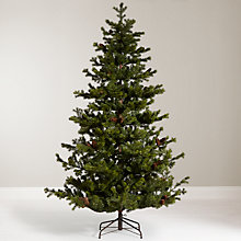 Buy John Lewis Ruskin House 7ft Pine Christmas Tree Online at johnlewis.com