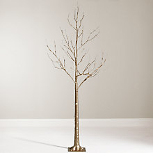 Buy John Lewis 6ft Pre-Lit Golden Twig Christmas Tree Online at johnlewis.com