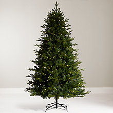 Buy John Lewis 7ft Kensington Pre-Lit Fir Christmas Tree Online at johnlewis.com
