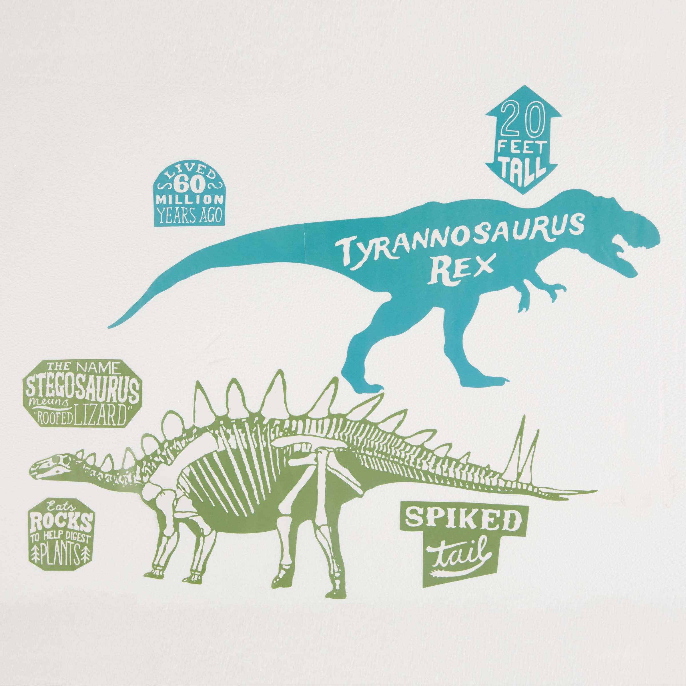 little home at John Lewis little home at John Lewis Prehistoric Explorer Wall Stickers