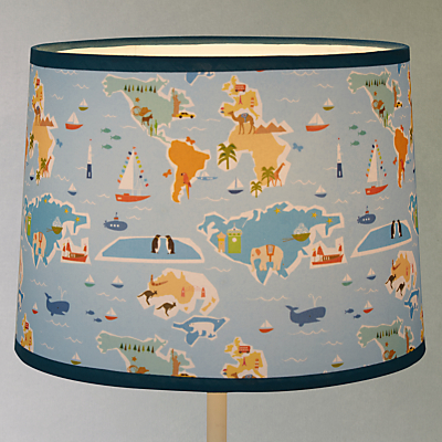 little home at John Lewis Globe Trotter Lampshade