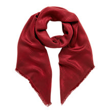 Buy Mulberry Monogram Square Scarf Online at johnlewis.com