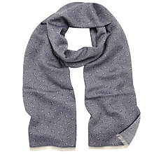 Buy Mulberry New Tamara Scarf, Grey Online at johnlewis.com