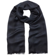 Buy Mulberry Check Monogram Rectangular Scarf Online at johnlewis.com