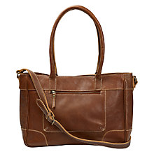 Buy Fat Face Lily Rich Grain Shoulder Bag, Tan Online at johnlewis.com