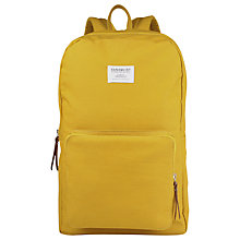 Buy Sandqvist Kim Ground Backpack, Yellow Online at johnlewis.com