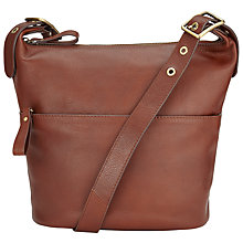 Buy John Lewis Penny Leather Bucket Across Body Bag Online at johnlewis.com