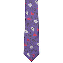 Buy Duchamp Alice Floral Silk Tie Online at johnlewis.com