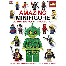 Buy LEGO Amazing Minifigure Ultimate Sticker Collection, Pack of 2 Online at johnlewis.com