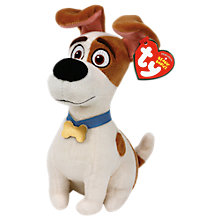 Buy Ty Beanie The Secret Life of Pets Beanie Soft Toy Online at johnlewis.com