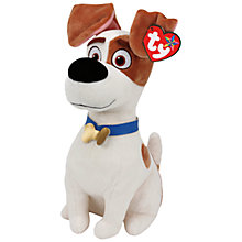 Buy Ty Beanie The Secret Life of Pets Max Soft Toy, 16cm Online at johnlewis.com