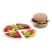 Buy John Lewis Burger and Pizza Roleplay Set Online at johnlewis.com