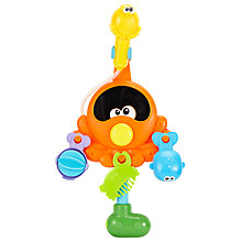 Buy John Lewis Octopus Sprinkling Shower Bathtime Playset Online at johnlewis.com