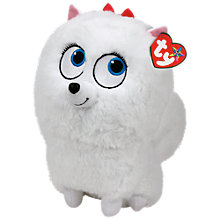 Buy Ty Beanie The Secret Life of Pets Gidget Soft Toy, 19cm Online at johnlewis.com