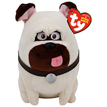 Buy Ty Beanie The Secret Life of Pets Mel Soft Toy, 15cm Online at johnlewis.com