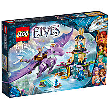 Buy LEGO Elves The Dragon Sanctuary Online at johnlewis.com