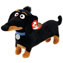 Buy Ty Beanie The Secret Life of Pets Buddy Soft Toy, 33cm Online at johnlewis.com
