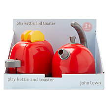 Buy John Lewis Play Kettle and Toaster Online at johnlewis.com