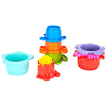 Buy John Lewis Water Stacking Cups Online at johnlewis.com