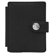 Buy Reiss Cash Suede Panel Card Holder, Black Online at johnlewis.com