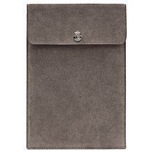 Buy Reiss Igor Suede iPad Sleeve, Minx Online at johnlewis.com