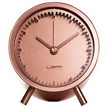 Buy LEFF Amsterdam Tube Clock by Piet Hein Eek, Copper Online at johnlewis.com