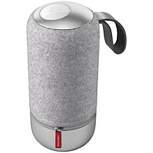 Buy 2x Libratone ZIPP Mini Bluetooth, Wi-Fi Portable Wireless Speaker with Internet Radio, Speakerphone & Italian Wool Cover, Copenhagen Edition, Salty Grey Online at johnlewis.com