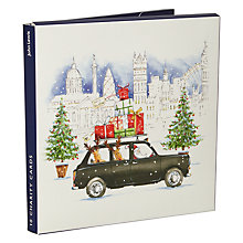 Buy John Lewis London Cab & Bus Charity Christmas Cards, Pack of 10 Online at johnlewis.com