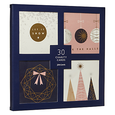 Product photo of John lewis helsinki christmas icons charity christmas cards pack of 30