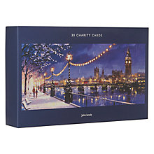 Buy John Lewis London In The Snow Charity Christmas Cards, Pack of 30 Online at johnlewis.com