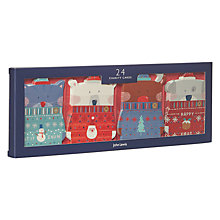 Buy John Lewis Mini Button Folk Charity Christmas Cards, Pack of 24 Online at johnlewis.com