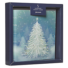 Buy John Lewis Magical Tree Charity Christmas Cards, Pack of 5 Online at johnlewis.com