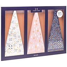 Buy John Lewis Helsinki Trees Charity Christmas Cards, Pack of 24 Online at johnlewis.com