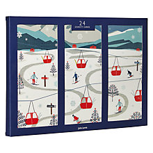 Buy John Lewis Chamonix Ski Scene Charity Christmas Cards, Pack of 24 Online at johnlewis.com
