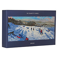 Buy John Lewis Ski Scenes Charity Christmas Cards, Pack of 30 Online at johnlewis.com