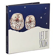Buy John Lewis Night Owl Charity Christmas Cards, Pack of 10 Online at johnlewis.com