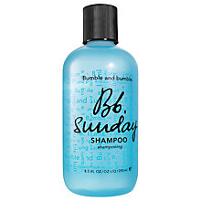 Buy Bumble and bumble Sunday Shampoo, 250ml Online at johnlewis.com