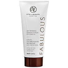 Buy Vita Liberata Fabulous Self Tanning Gradual Lotion, 200ml Online at johnlewis.com